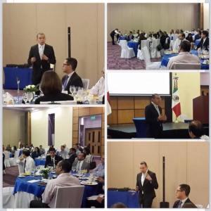 Conferencia en Panamá sobre Oportunidades en Logística ante la Alianza del Pacífico, en la que asistieron los embajadores de México, Perú y Chile