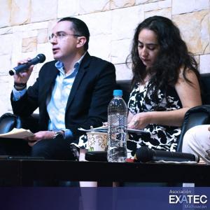 Participación en el Panel del Encuentro EXATEC, Campus Michoacán