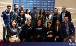 Con el Comité Organizador del Encuentro EXATEC, Campus Michoacán