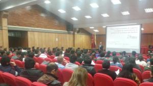 Conferencia con alumnos de Ingeniería Industrial de la Universidad Libre de Colombia
