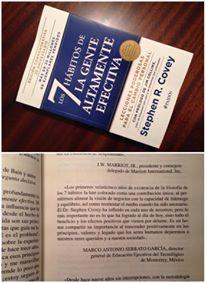 """Contribución en el Libro """"Los 7 hábitos de la gente altamente efectiva"""". Edición Conmemorativa por su XXV aniversario"""
