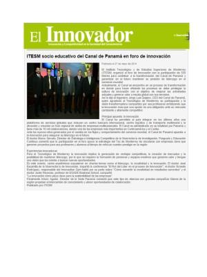 ITESM Socio Educativo en Canal de Panamá_Innovador