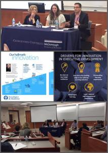 Participación en el Panel UNICON en Georgetown University (2016)