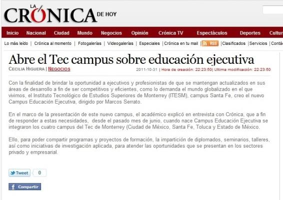 MASG vlog_Abre el Tec Campus sobre EE_La Crónica