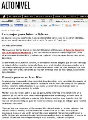 MASG vlog_Alto Nivel_9 consejos para futuros líderes