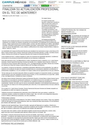 MASG vlog_Campus Mexico_Finalizan actualización profesional