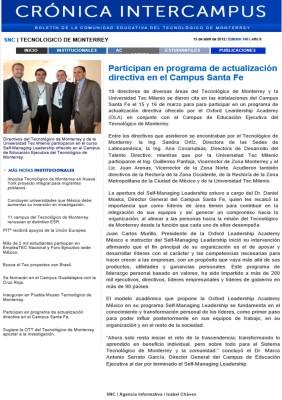 MASG vlog_Crónica Intercampus_Participan en Programa de Actualización Directiva