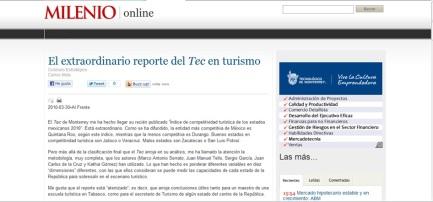 MASG vlog_Milenio Online_Extraordinario reporte del Tec en Turismo