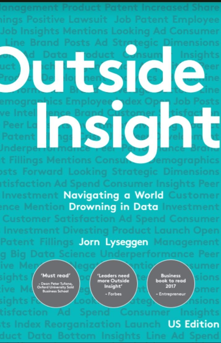 Book review: Outside Insight – Navigating a world drowning in data