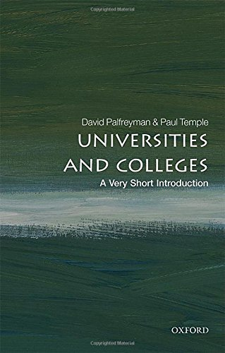 Book Review: Universities and Colleges – A Very Short Introduction